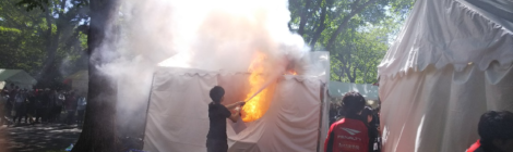 【解説】模擬店火事 油の過加熱が原因《北大祭》 消防「出店者は火の特性の理解を」