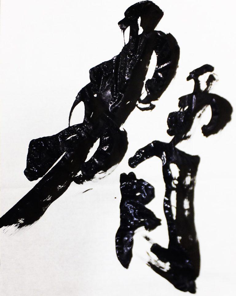 北大版今年の漢字は「脅」(2019)