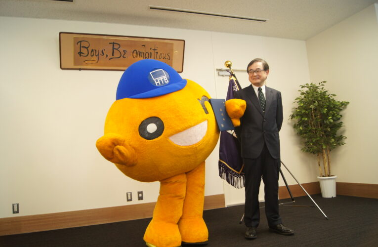 onちゃんも卒業式 「北大OB」としての活躍に期待