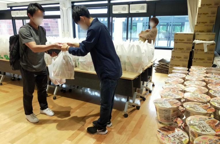 北大、札幌・函館両キャンパスで食料支援実施