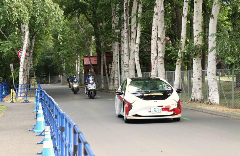 東京五輪マラソン競技開催 北大構内にも多数の観客
